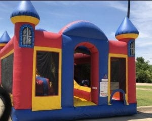 Kids Backyard Obstacle Course Inflatable