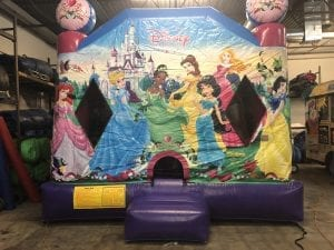 princess bounce house dallas