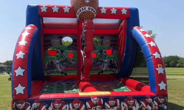 First Down Football Inflatable Games