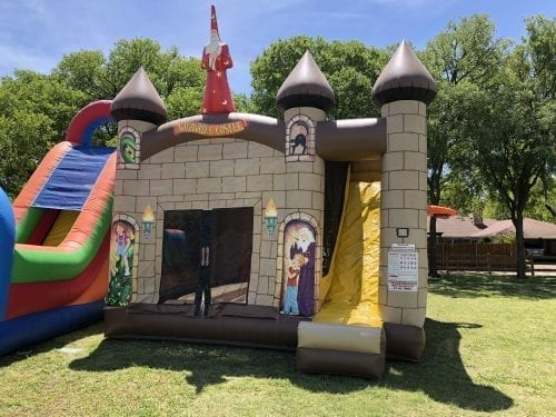 Wizard Castle Combo Bounce House
