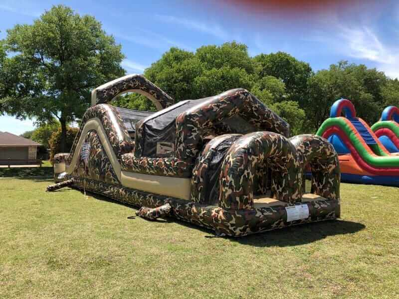 Delta Force Obstacle course rental | Starwalk of Dallas