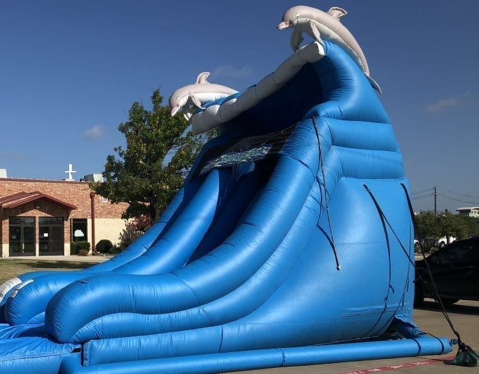 inflatable dry slide Dallas