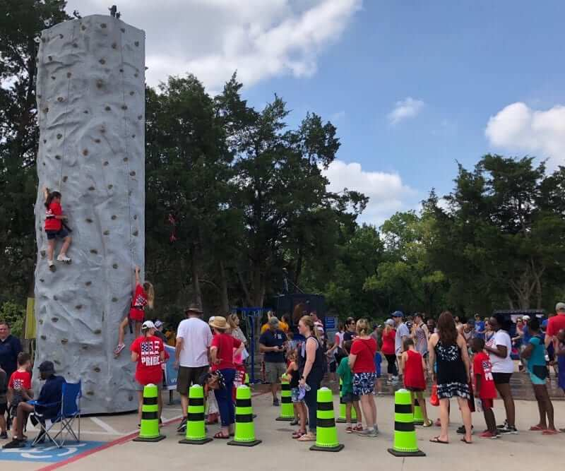 Mobile Rock Climbing Wall