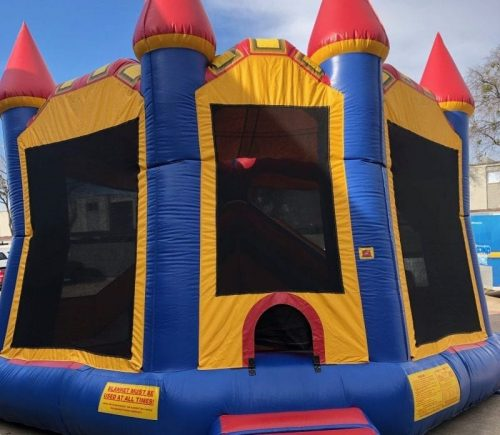 bouncing castle for rent - castle combo bouncer