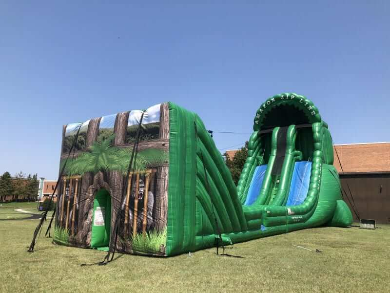 inflatable portable zip line Dallas