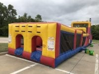 huge blow up obstacle course inflatable