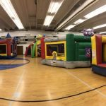 obstacle course bounce house event