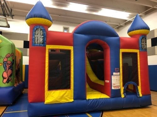 backyard obstacle course inflatable