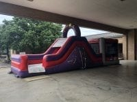 Kids inflatable obstacle course rental