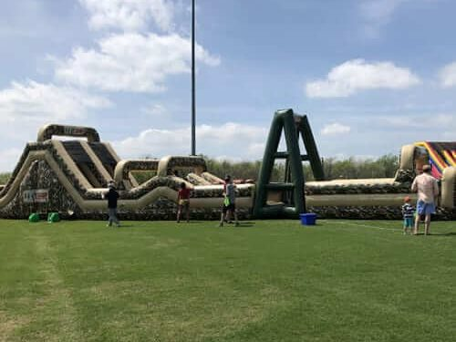 BOOT CAMP INFLATABLE OBSTACLE COURSE 2