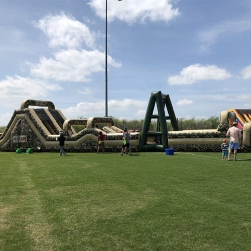 BOOT CAMP INFLATABLE OBSTACLE COURSE 1
