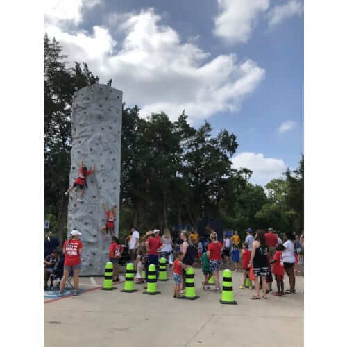 MOBILE ROCK CLIMBING WALL 2