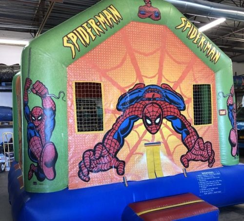 Spiderman Jump House
