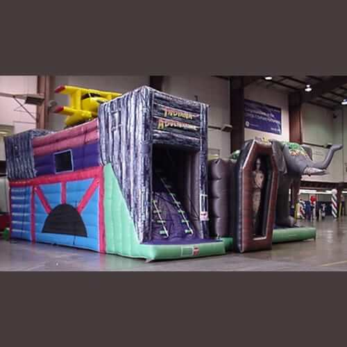 INDIANA ADVENTURE EXTREME INFLATABLE OBSTACLE COURSE 1