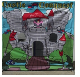 Castle Toss Carnival Game
